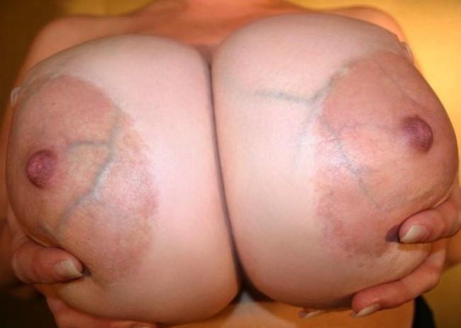 【おっぱい】巨乳輪のお姉さんがスケベすぎてたまらんエロ画像!【30枚】