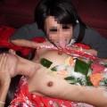 【おっぱい】お刺身やケーキ、そして私も召し上がれ!女体盛りで登場する女の子のおっぱい画像がエロすぎる!【30枚】