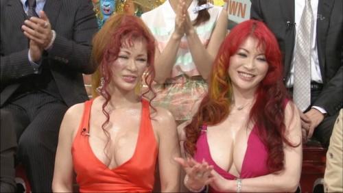 【おっぱい】豊満ナイスバディでゴージャース姉妹で有名な叶姉妹のおっぱい画像がエロすぎる!【30枚】