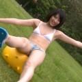 【おっぱい】モデルさんのようなスラッとしたスレンダーボディがとても美しいグラビアアイドル・橘さりちゃんのおっぱい画像がエロすぎる!【30枚】