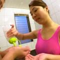 【おっぱい】イヤらしい手つきで息子の体を洗うだけで飽き足らず、執拗に男根をイジりまくる母親のおっぱい画像がエロすぎる!【30枚】