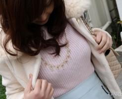 セーターの着エロ画像集