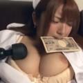 【エロ動画】深夜の病院で弱みを握られた爆乳ナースが医者にお金で抱かれていく!【神咲詩織】