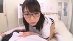 【エロ動画】赤メガネの童顔美少女が体育の授業を抜け出して保健室に抜きにきてくれた!【美少女】