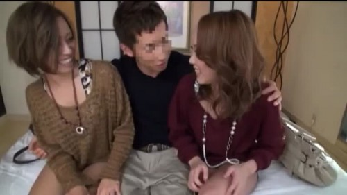 【エロ動画】ヤリマンっぽい素人ギャルを友達もろともナンパして3Pwww【素人】
