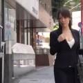 【エロ動画】営業まわりの途中で撮影に応じてくれた素人OLとハメ撮り!【素人】