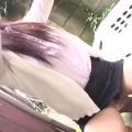 【エロ動画】隣の奥さんが洗濯物を干すときに胸チラパンチラしまくるからwww【熟女】