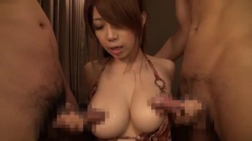【エロ動画】美巨乳でスレンダーという素人離れした素人ギャルと中出し3P!【素人】