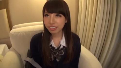 【エロ動画】いまどきの子って感じのメイクの制服娘とデートしてハメ撮り!w【素人】