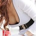 【おっぱい】どうしても油断してしまう瞬間がある素人さんのガバガバの胸元www【30枚】
