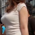 【おっぱい】超薄着から普通の薄着になるいまの時期が着衣巨乳の見頃!【30枚】