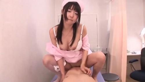 【エロ動画】エロ可愛いナースのつぼみがモジモジと痴女プレイ!w【つぼみ】