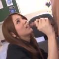 【エロ動画】二人きりのオフィスで先輩社員を食べてしまう淫乱OL!w【OL】
