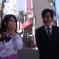 【エロ動画】退屈そうにしている巨乳JKギャルを風俗店みたいなとこに連れ込む!w【ギャル】