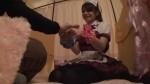【エロ動画】メイドマッサージ店の個室でナースコスさせてハメちゃう!w【素人】