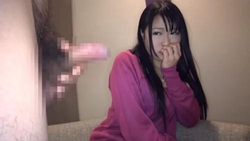 【エロ動画】やや強引にナンパした素人娘に強引にセンズリ鑑賞させてハメ撮り!w【素人】