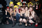 【おっぱい】ハロウィンで泥酔しヒャッハー状態で胸を強調したり露出してる仮装素人女子のおっぱい画像集w【80枚】