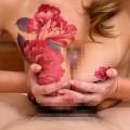 【おっぱい】イマドキのパリピギャルやヤンキー娘たちが美ボディのタトゥーと美乳を同時に披露してくれてるタトゥーおっぱい画像集!w【80枚】