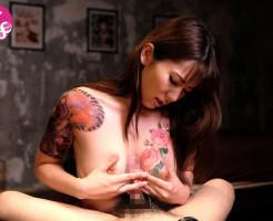 タトゥー女子のおっぱい画像集